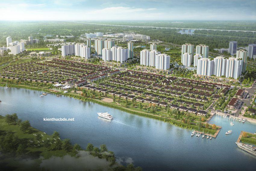 Phối cảnh Waterpoint Nam Long