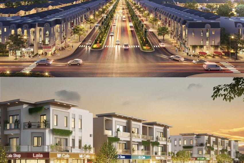 The Sol City - Ảnh vuông Shophouse